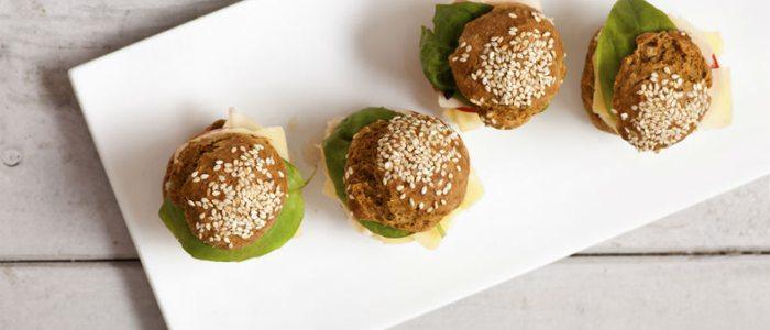 Mini hamburguesas de bonito