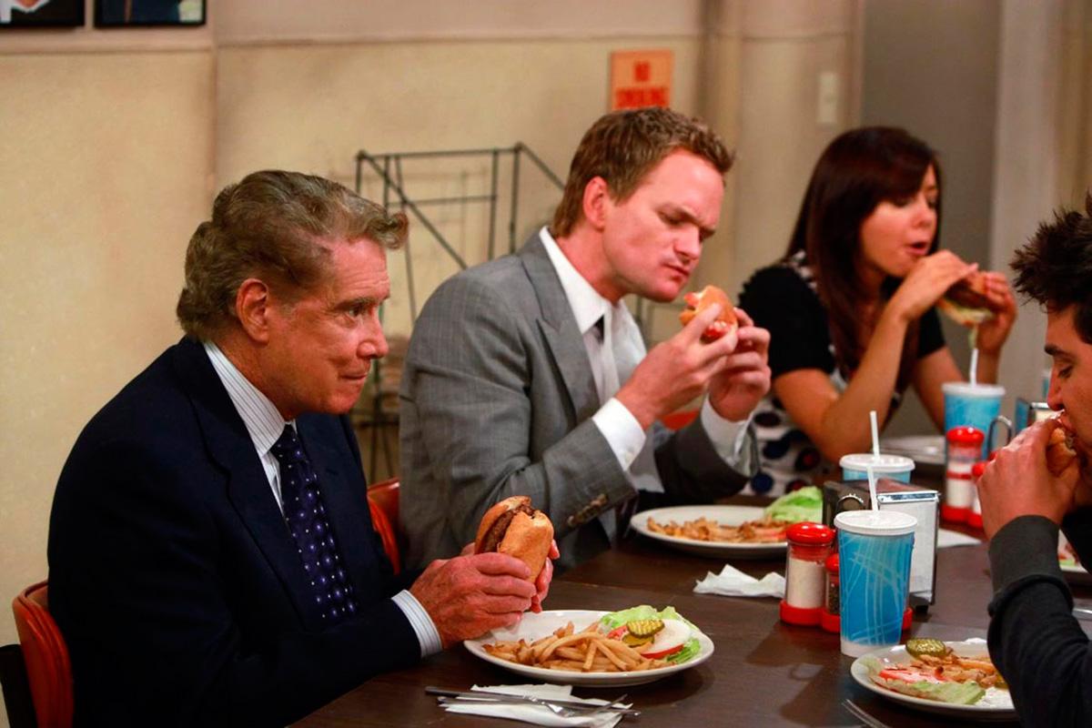 En 'Cómo conocí a vuestra madre' las reuniones de los amigos solían girar alrededor de una cena.