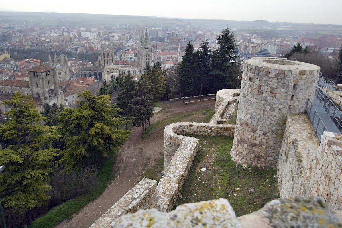 Mirador del Castillo. Foto: Turismo de Burgos.