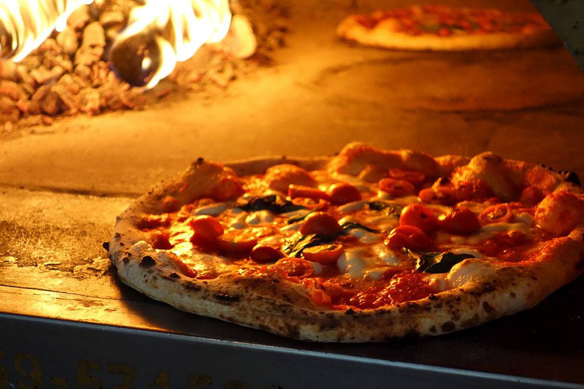 Las pizzas al horno de leña de 'Reginella'. Foto: Reginella.
