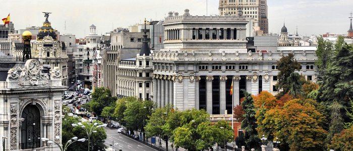Gran Vía, Madrid.