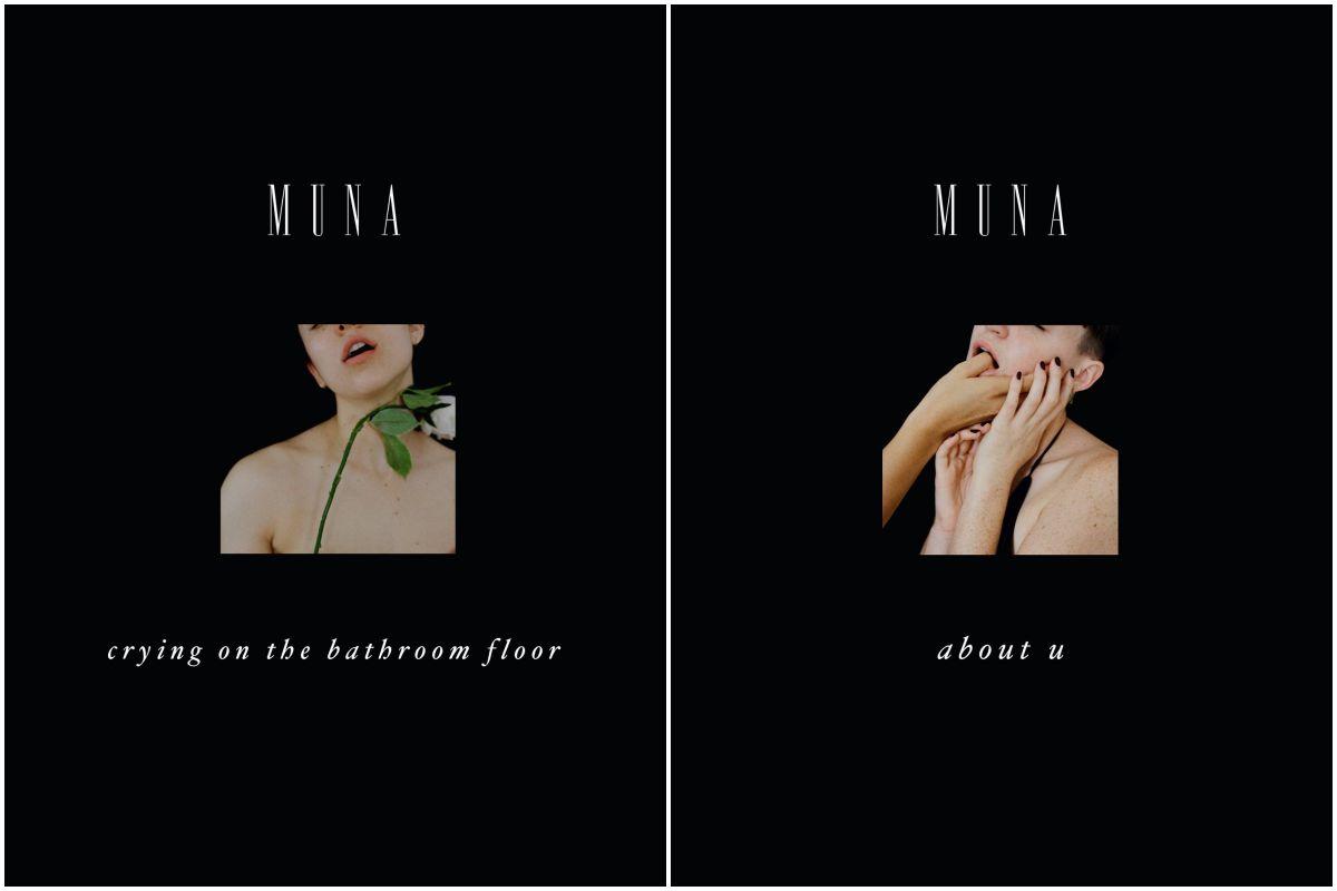 Portada y contraportada del disco del trío femenino Muna.