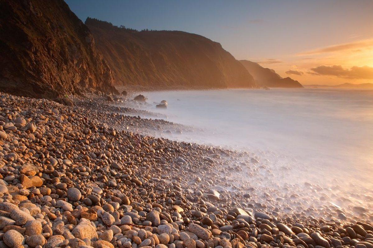 La hermosa playa de Campelo. Foto: shutterstock.