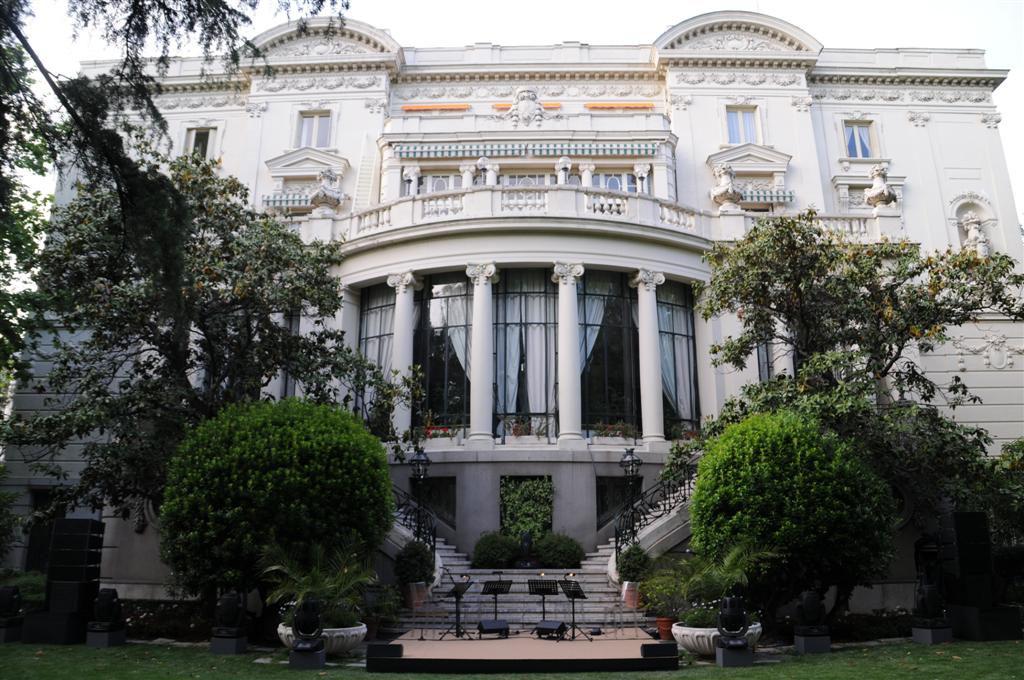 Fachada principal de la sede de la embajada de Italia en Madrid. Foto: Cedida.