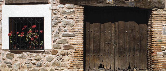 Arquitectura popular de Santurdejo.