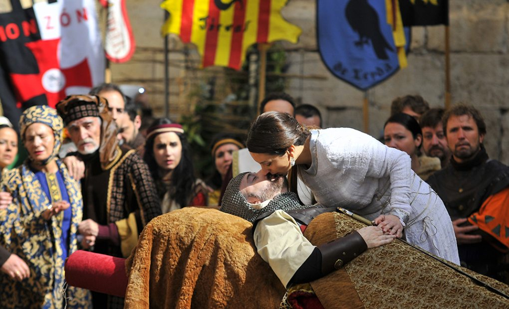 Representación de 'Las bodas de Isabel de Segura'.