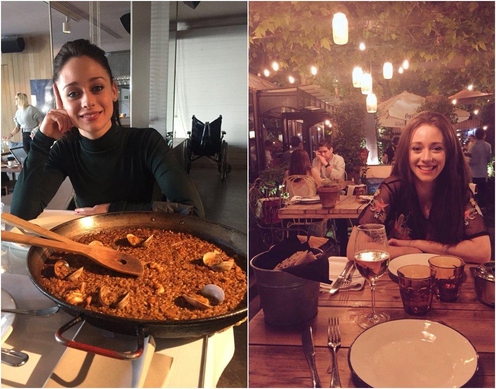En los restaurantes 'Ana la Santa' y 'Arzabal' (Madrid). Fotos cedidas.