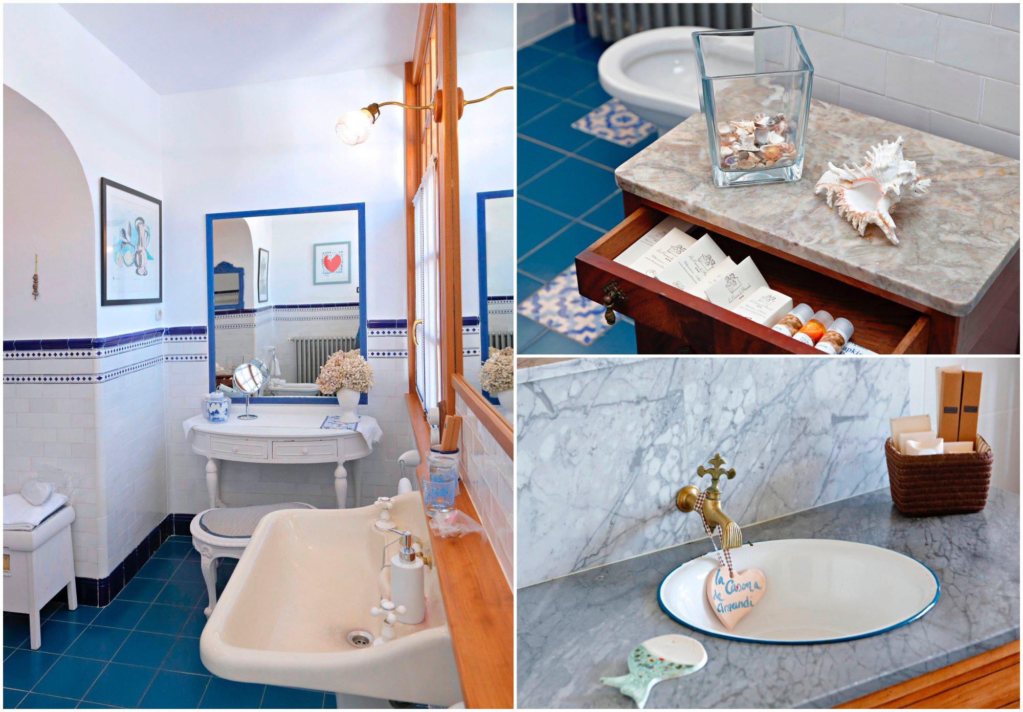 La Casona de Amandi (Villaviciosa, Asturias): baños