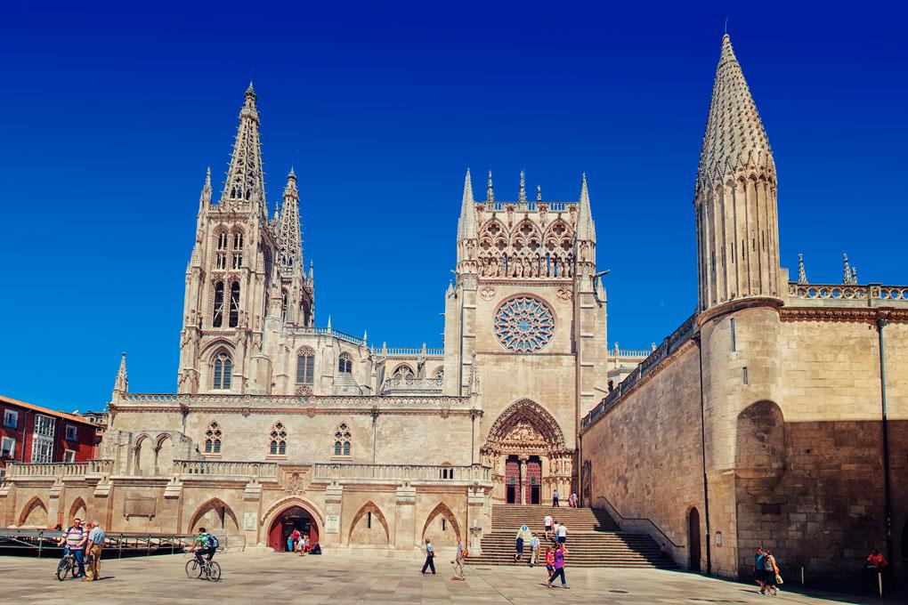Burgos concentra tres Patrimonios de la Humanidad, uno de ellos su Catedral. Foto: shutterstock.