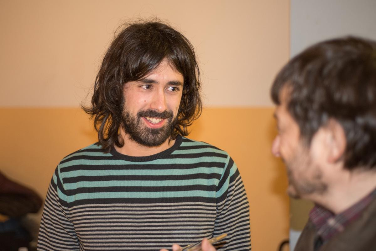 Íñigo, cocinero de profesión, es el actor que dará vida a Jesucristo este año. Foto: Eneko García Ureta.