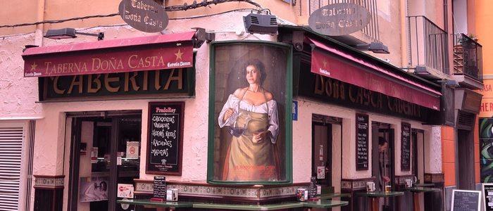 Taberna Doña Casta, Zaragoza.