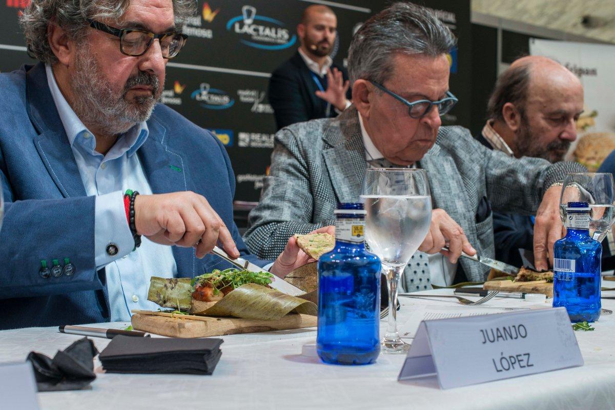 Juanjo López, Josemi Rodríguez Sieiro y Lorenzo Díaz, tres miembros del jurado.