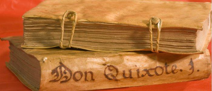 Edición especial de Don Quijote de la Mancha, de Cervantes.
