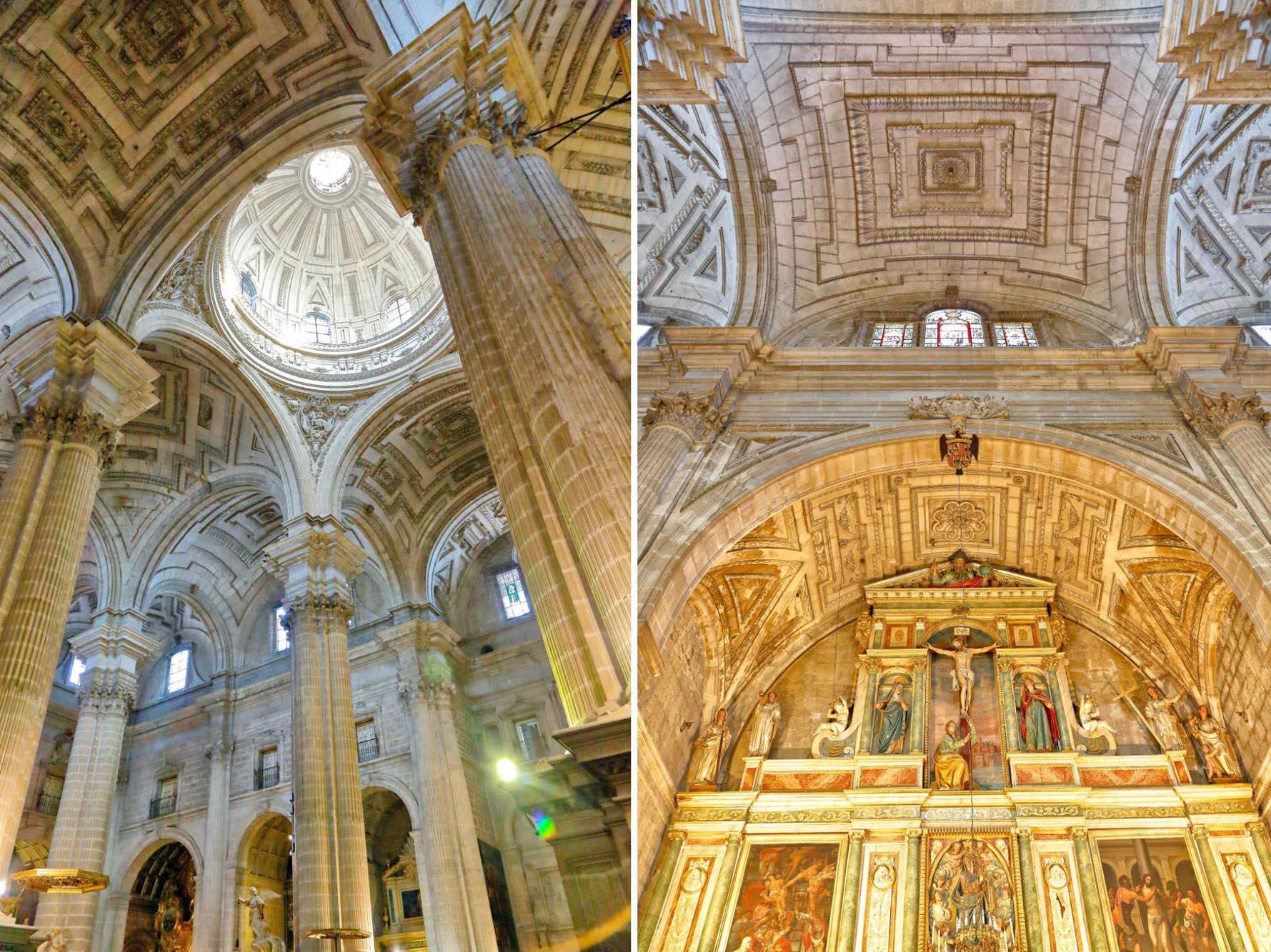 La bóveda baída o de pañuelo fue una invención de Andrés de Vandelvira.