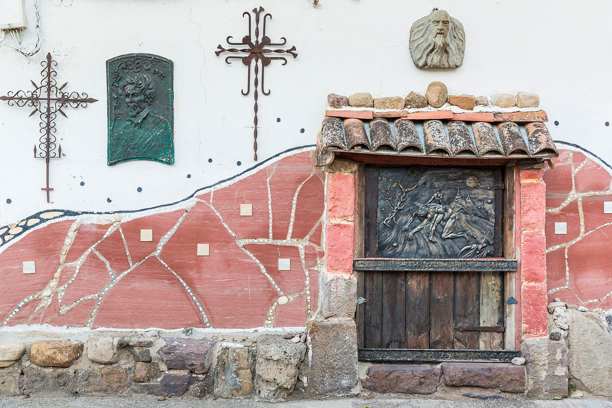 Trasmoz: Museo de las Brujas en el pueblo. Foto: Ferrán Mallol