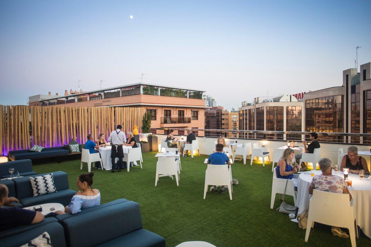 Azotea 'La Terracita del SH Valencia Palace': ambiente en la terraza