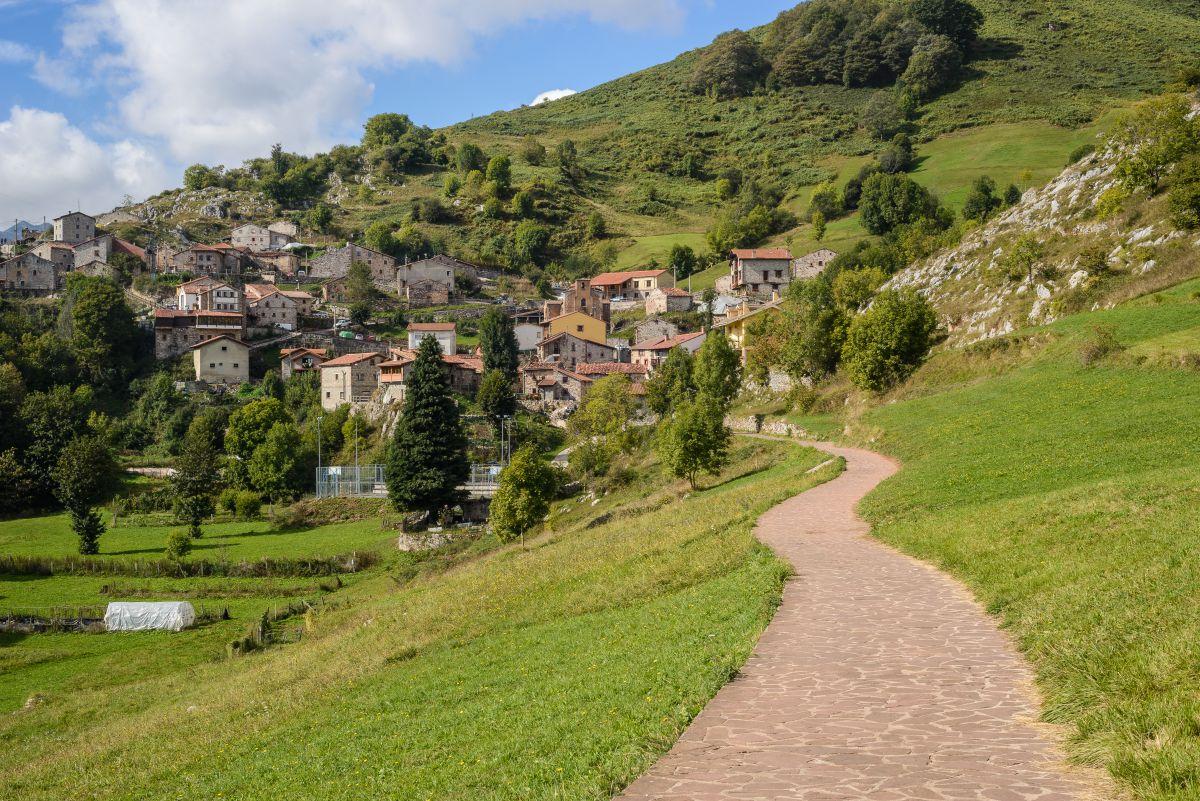 Tresviso, un paisaje bucólico en verano. Foto: Shutterstock.