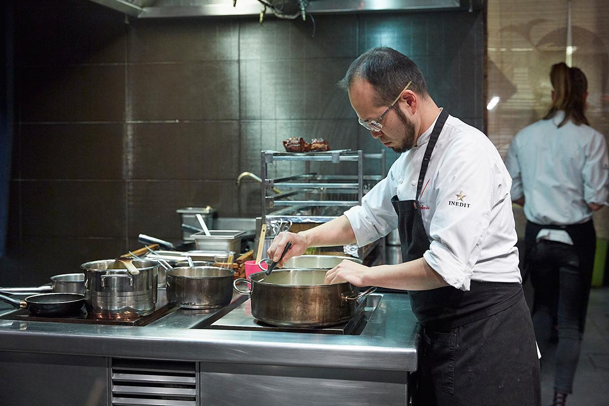 En diez años, en esta cocina se han realizado unas 230 recetas diferentes.