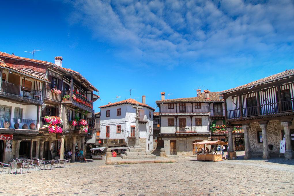 La Alberca, pueblo ubicado en el corazón de la Sierra de Francia. Foto: shutterstock