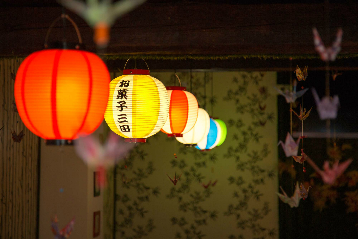 La decoración de Okashi Sanda es muy peculiar. / Foto: Okashi Sanda.