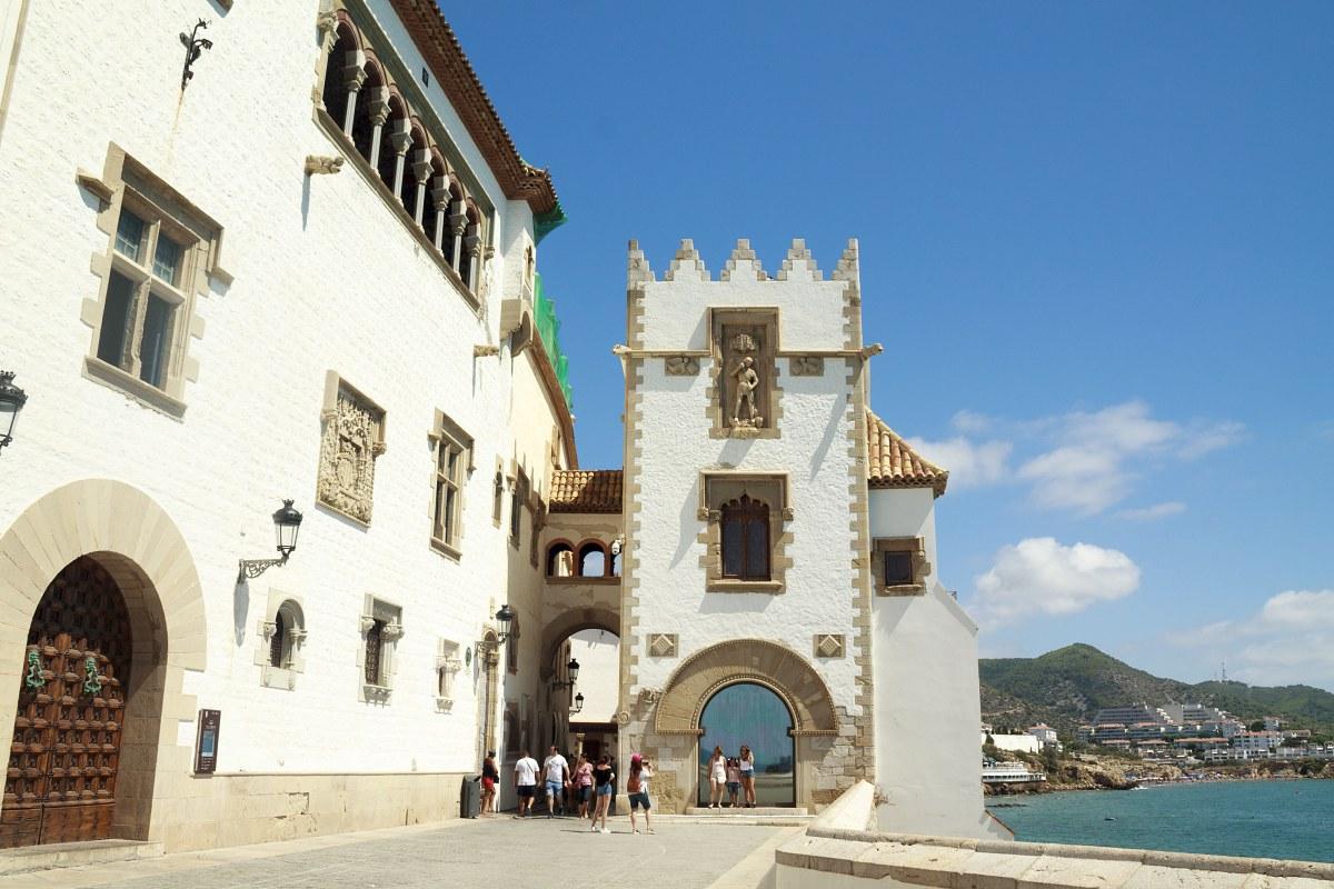 El Palacio de Maricel, toda una joya de Sitges. Foto: Shutterstock.