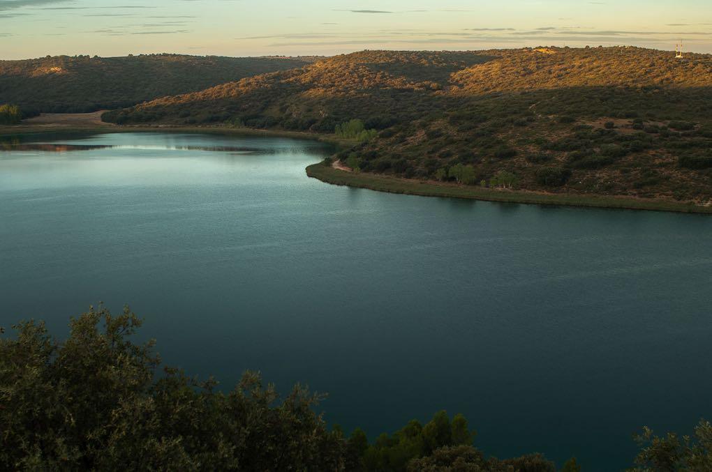 La laguna del Rey forma parte del Parque Natural Lagunas de Ruidera.