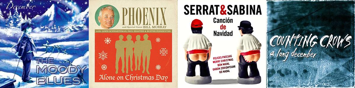 Los single 'December Snow', 'Alone on Christmas Day', 'Canción de Navidad' y 'A long december'