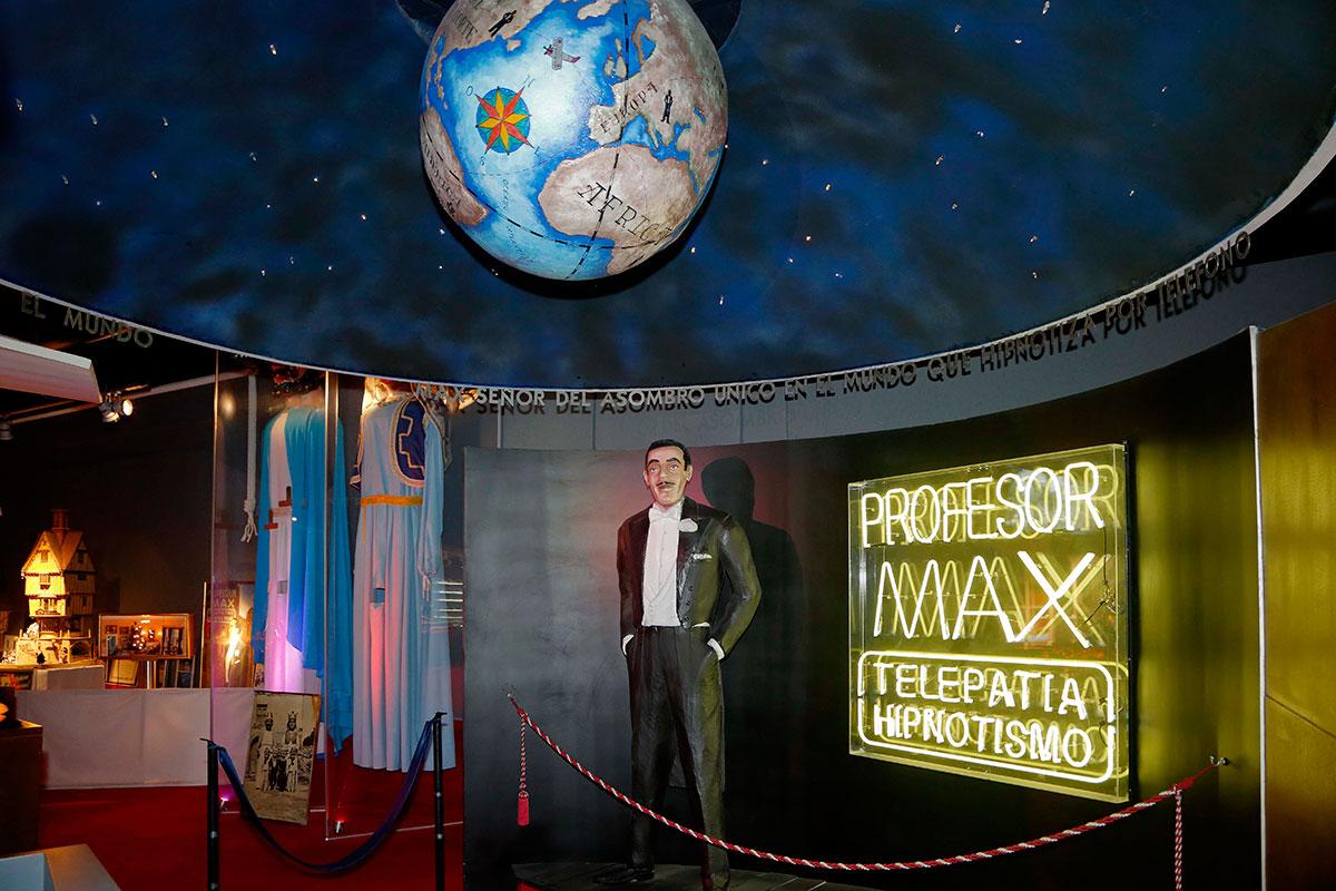 Homenaje a don Juan Elegido Millán, conocido como el Profesor Max.