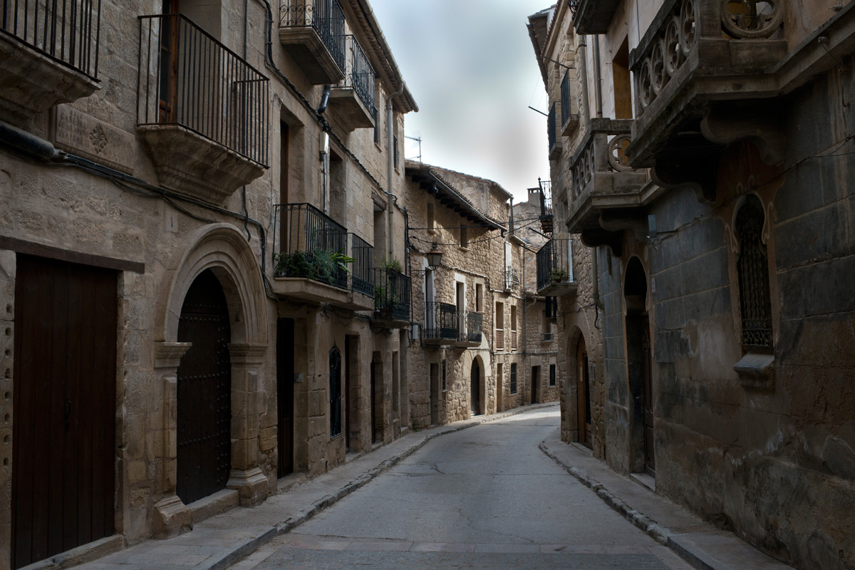 En la calle Maella vivían los ricos porque no sopla el cierzo y es plana.