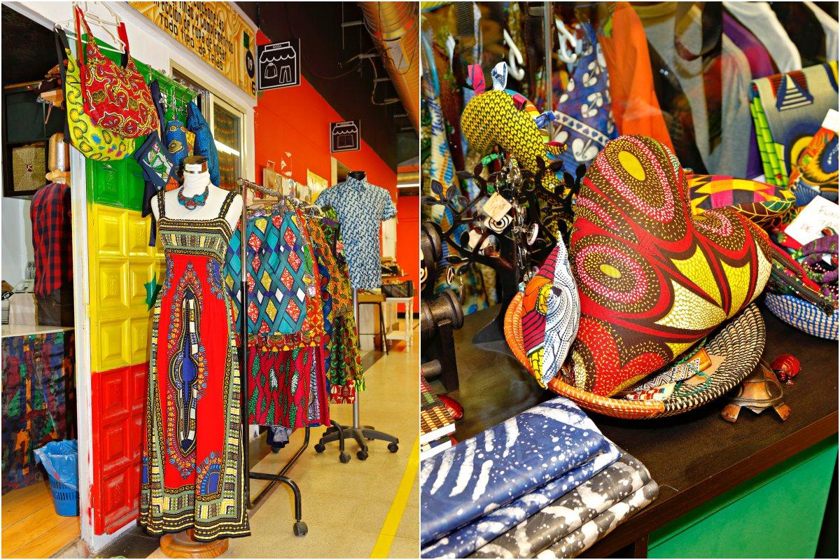 Vestidos, bolsos, pendientes, monederos que inspiran un viaje a África.