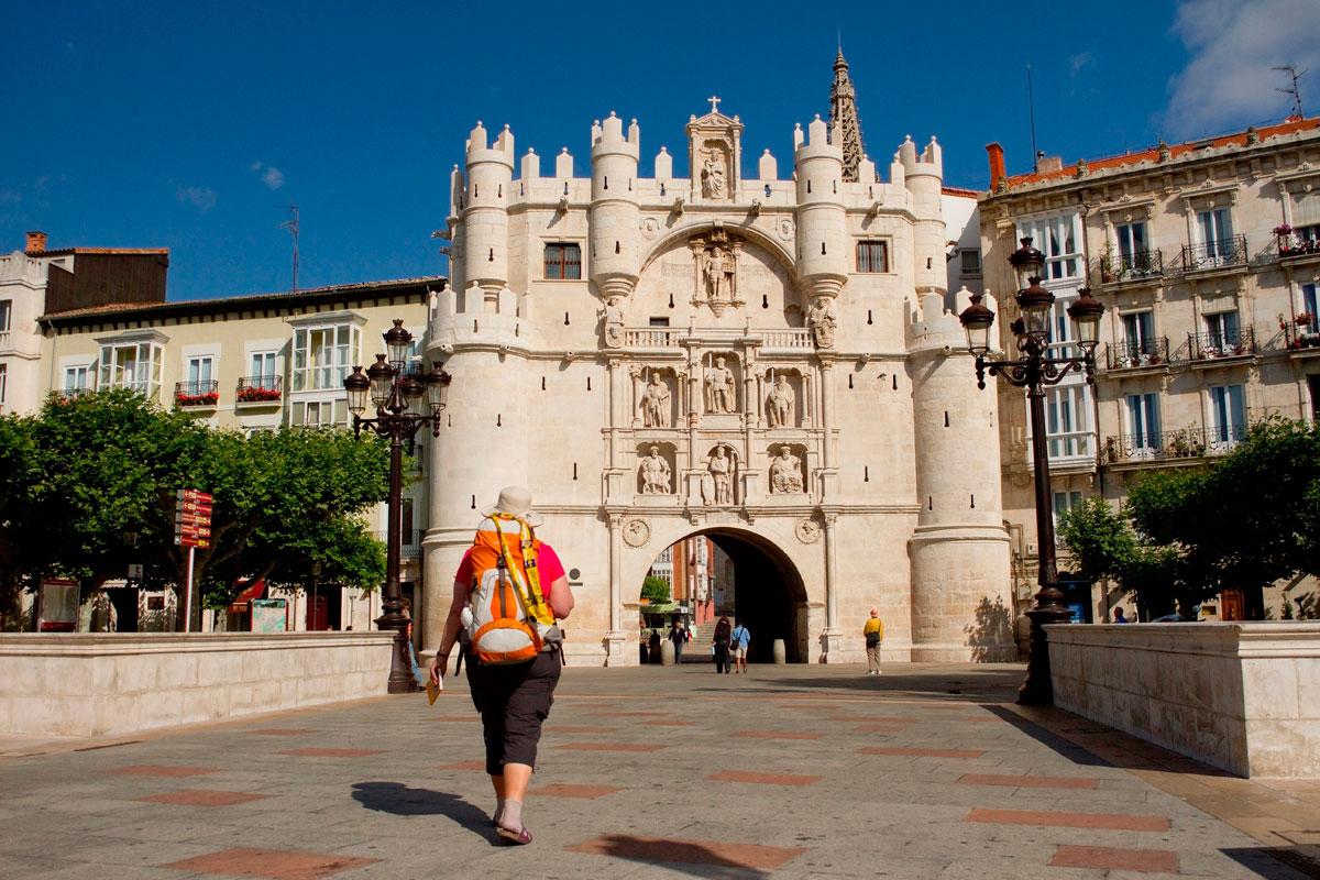 Peregrinos en Burgos. Foto: shutterstock