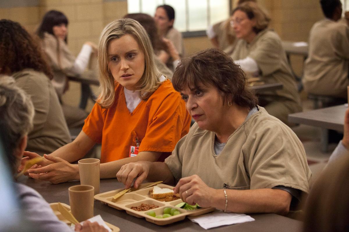 Cuando la comida de la cárcel puede ser una delicia.