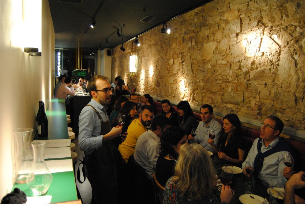 Gresca Bar y su rústico-moderno interior. Foto: E.R.