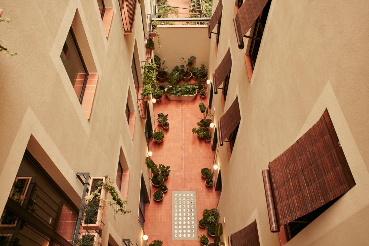 El patio interior. Foto: Casa Bonay. Nacho Alegre.