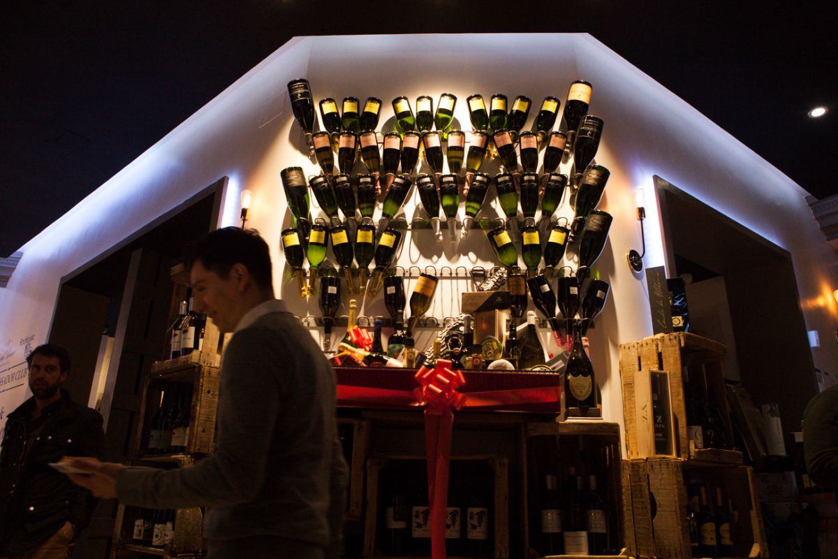Gran variedad de vinos y cavas.