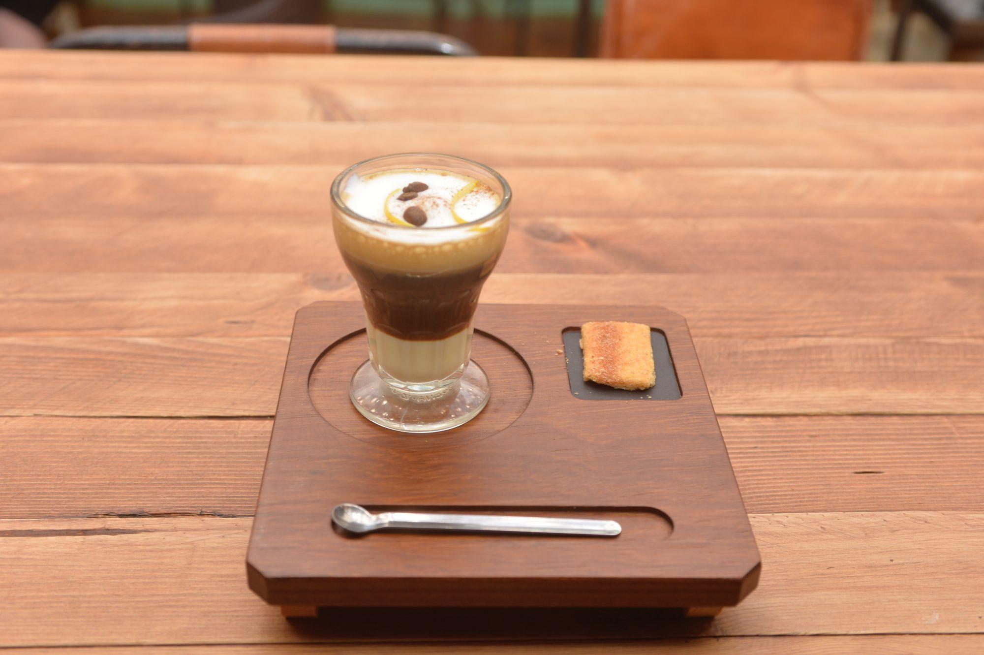 Café asiático de Cartagena (Murcia): Asiático servido en su copa