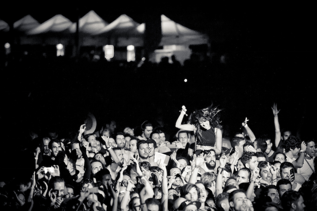 Diversión asegurada para los amantes del 'indie'. Foto: Javier Rosa (imagen cedida por Low Festival a guiarepsol.com)