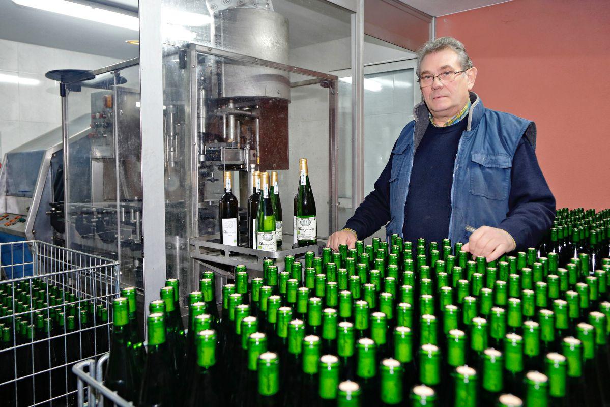 Iñaki Etxeberria, un pequeño productor enamorado de su producto.