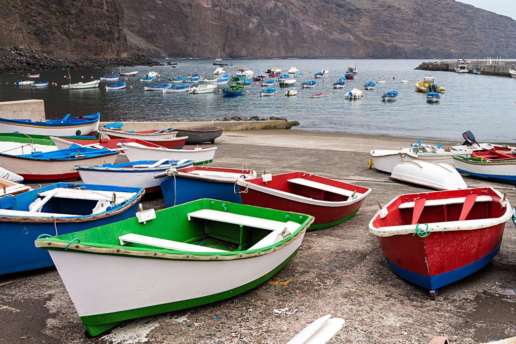Pequeño puerto en el municipio de Valle. Foto: shutterstock.