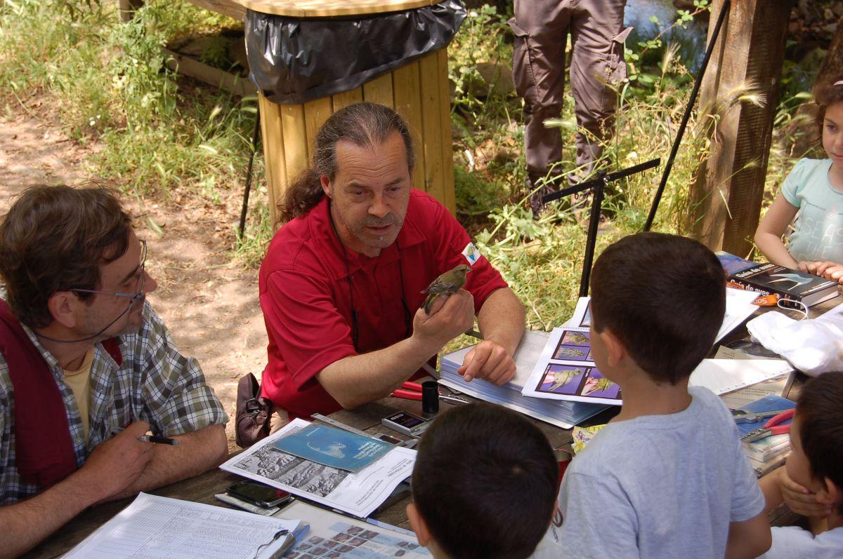 Hay talleres de educación para los más peques. Foto: Centro de Documentación Parque Nacional Monfragüe