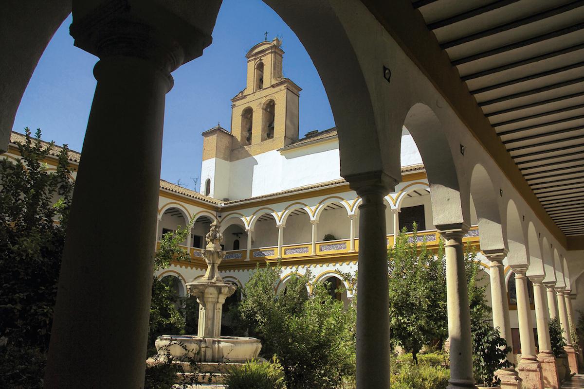 Claustro del Convento de San Francisco, en Lucena.