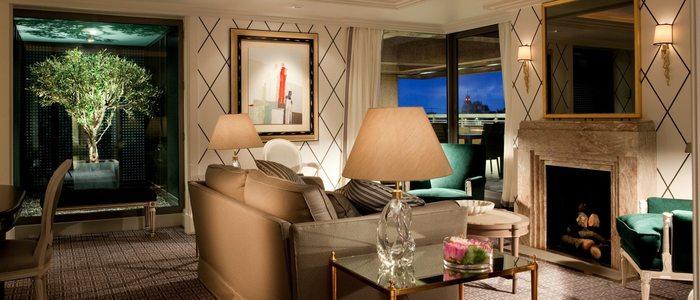 Suite Real del hotel Villa Magna en Madrid.