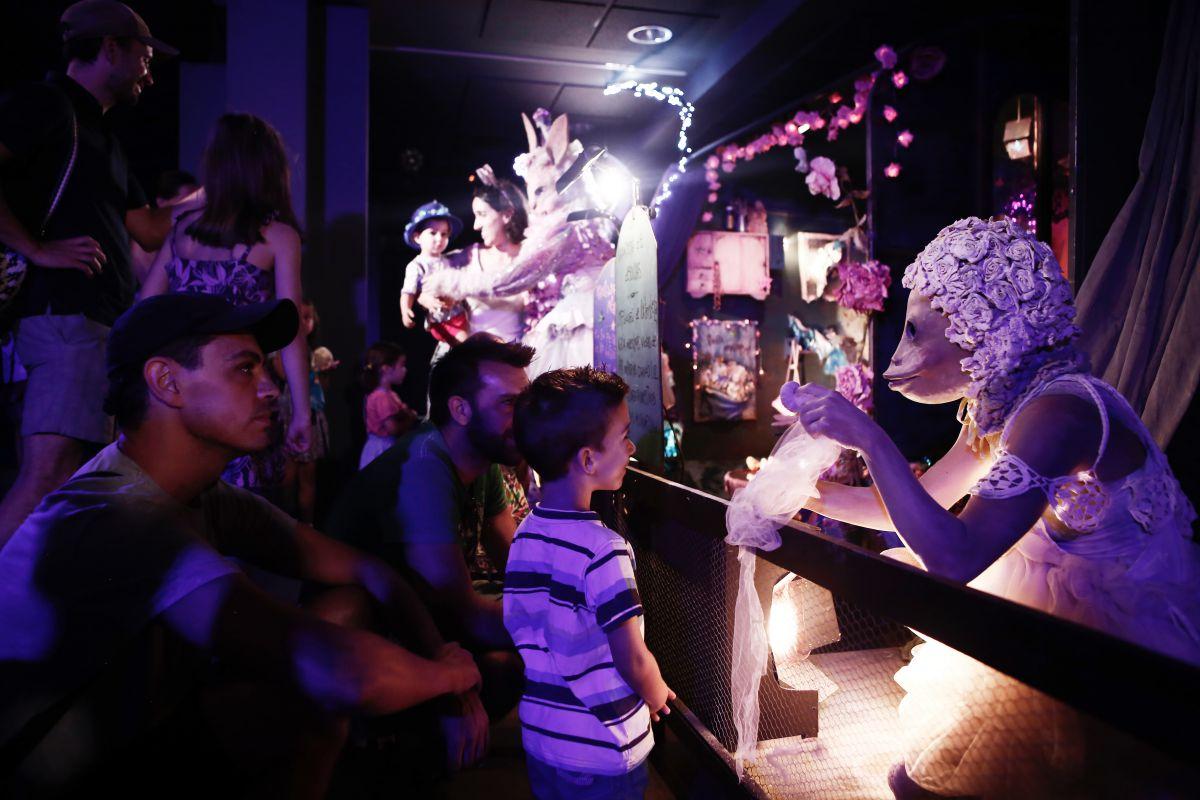 Las aulas multidisciplinares van utilizándose en función de la expresión artística de los talleres. Foto: Espacio Abierto.