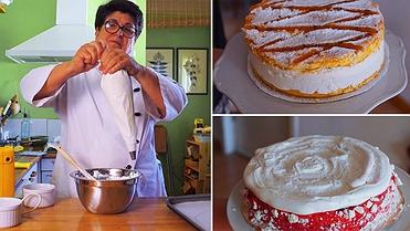 Recetas de tartas heladas de whisky y de merengue
