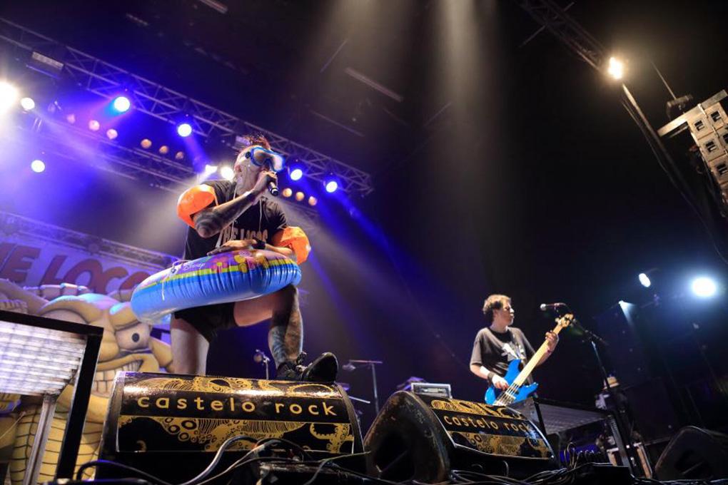 Celebración de uno de sus conciertos en ediciones pasadas, ¿alguien da más? Foto: Facebook Castelo Rock.