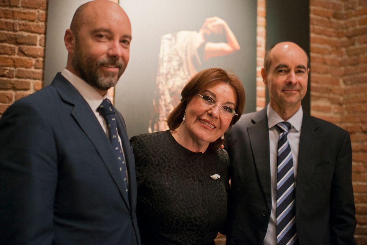 La familia del Rey al completo: Armando, Blanca y Juan Manuel.
