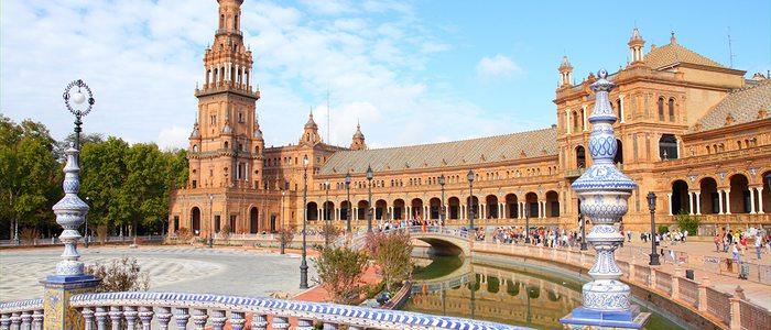 Plaza de España de Sevilla.
