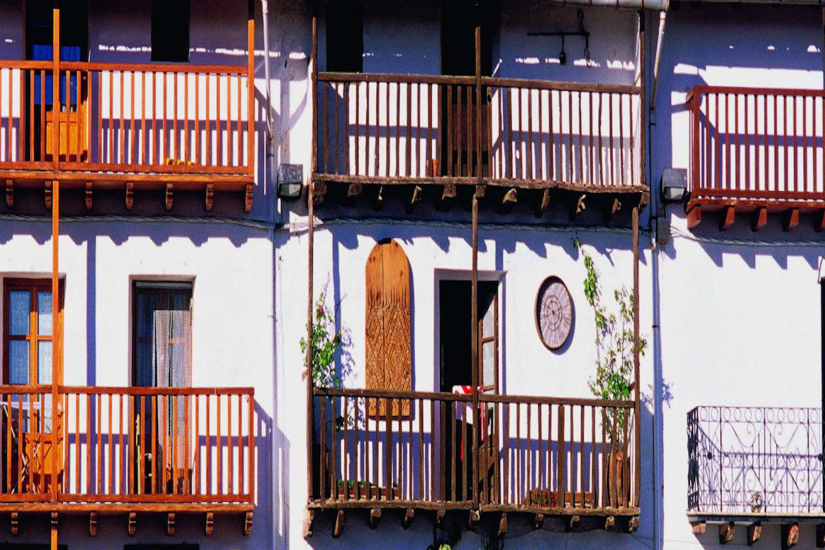 Balconadas de Morella.