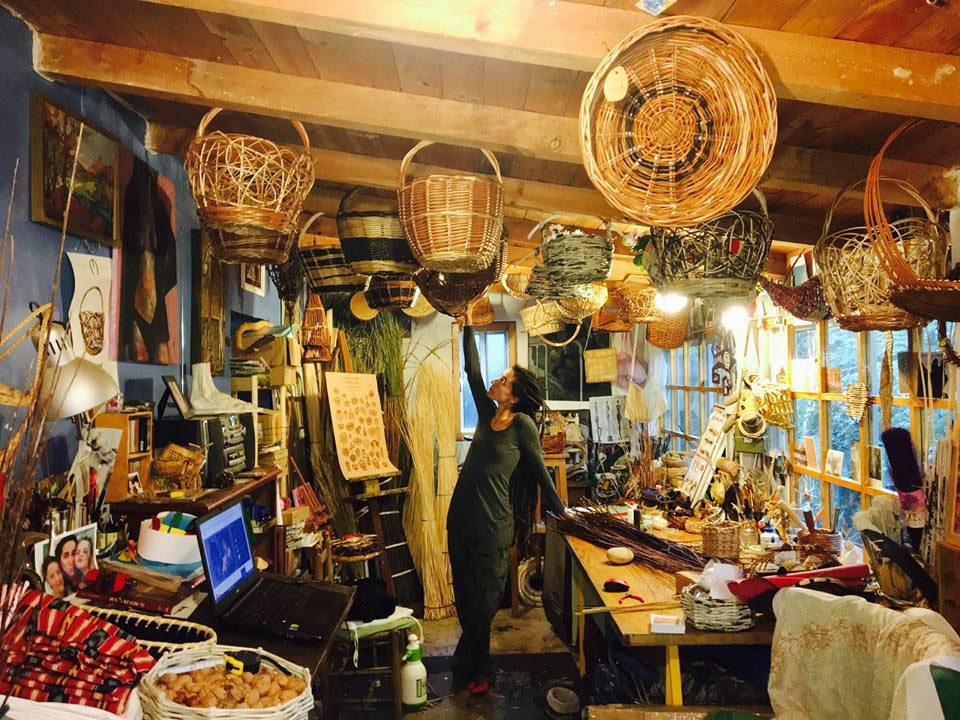 Cesteando: taller en Tudela de Duero