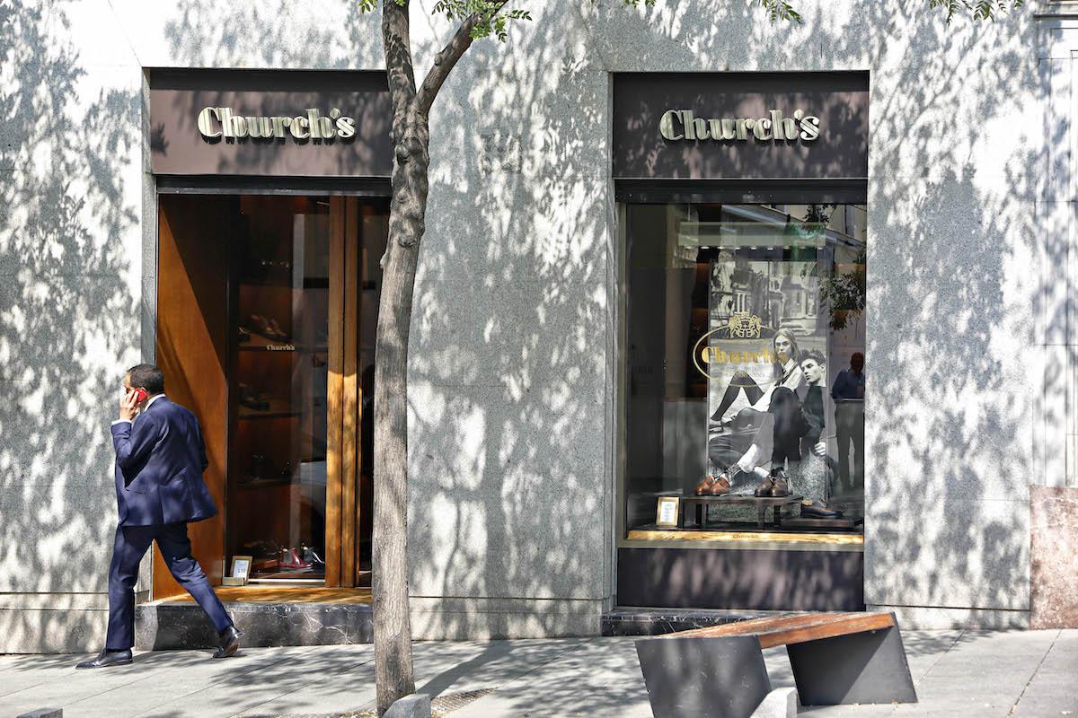 Tienda Church's en la calle Jorge Juan, Madrid.